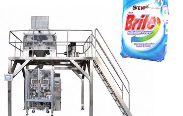 Maszyna do pakowania proszku do prania w 4 głowicach liniowych