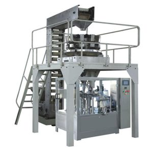 Automatyczne wstępne ważenie granulatu Napełnianie i zamykanie linii produkcyjnej