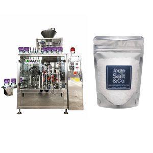 Automatyczna obrotowa wstępnie pakowana maszyna do pakowania worków na sól