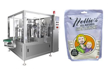 Automatic snack food doy bag packaging machine