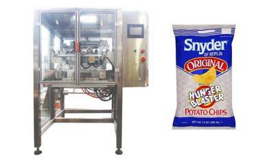 Ciągły ruch pionowej maszyny do pakowania granulatu żywności