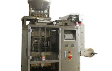 wielopasmowa automatyczna maszyna do pakowania saszetek do saszetek