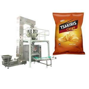 Maszyna do pakowania zrębków ziemniaczanych