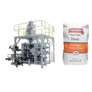 Maszyna do pakowania w proszku 20kg Maszyna do pakowania mąki Big Bag z urządzeniem uszczelniającym