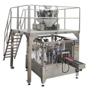 Obrotowa automatyczna torebka do pakowania w folię na napady do pakowania orzechów