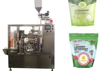 maszyna do pakowania w folię do prania w płynie premade